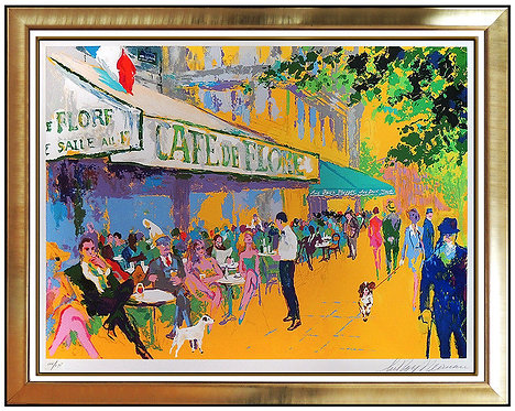 """L'Apres - Midi D'or"" by LeRoy Neiman"