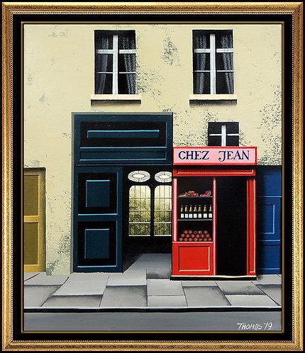 """Original Chez Jean"" by Thomas Pradzynski"