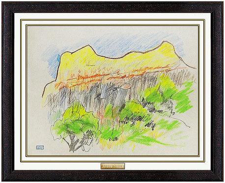 """""""Majestic Ridge"""" by Joseph Stella"""