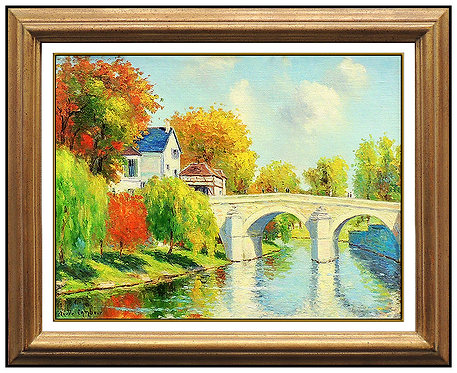 """Original Bridge of Serenity"" by Claude Cambour"