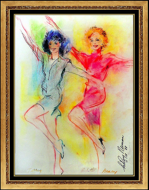 """Original Rockettes"" by Leroy Neiman"