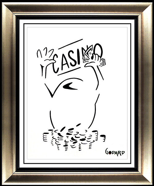 """Original Casino Olive"" by Michael Godard"