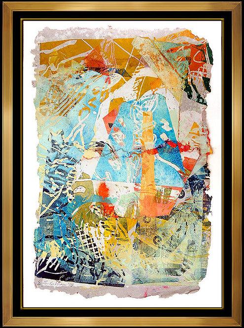 """Original Collage"" by Sam Gilliam"