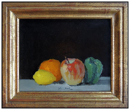"""""""Still Life with Apples"""" by Robert Kulicke"""