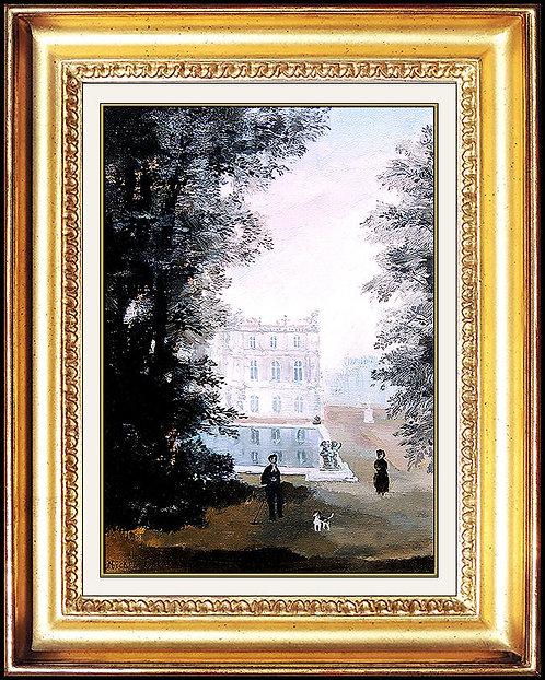 """""""Versailles, Tot le Matin"""" by Michel Delacroix"""