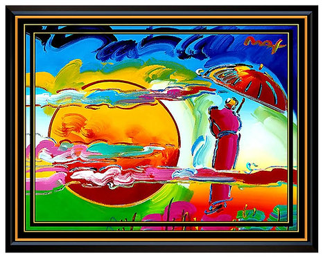 """""""Original New Moon"""" by Peter Max"""