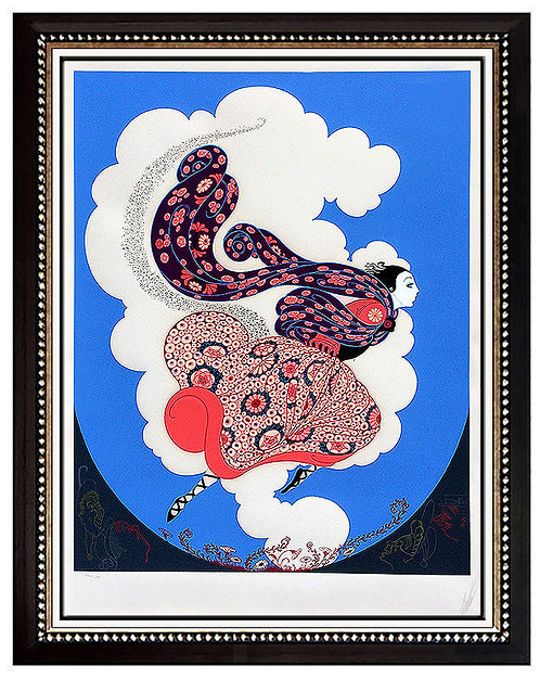 """The Pursuit of Flore"" by Erte"