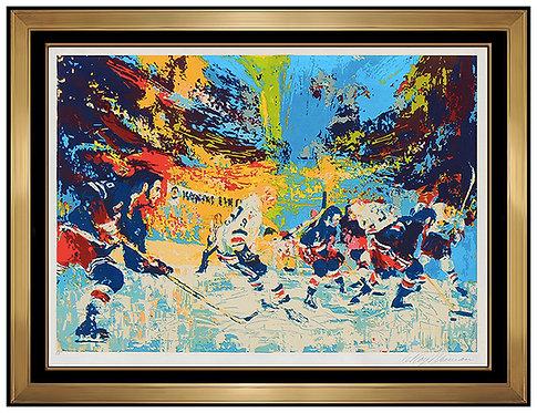 """Ice Men"" by Leroy Neiman"