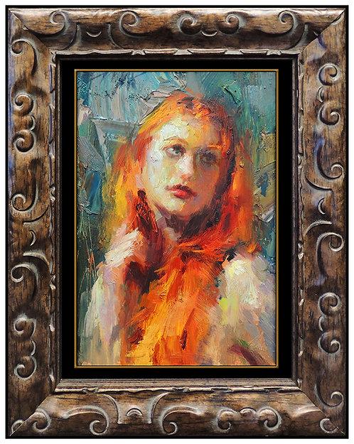 """""""Original Scarlet Beauty"""" by Henry Asencio"""