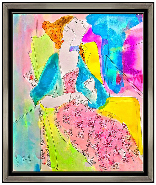 """""""Original Couple Listens to Chopin"""" by Linda Le Kinff"""