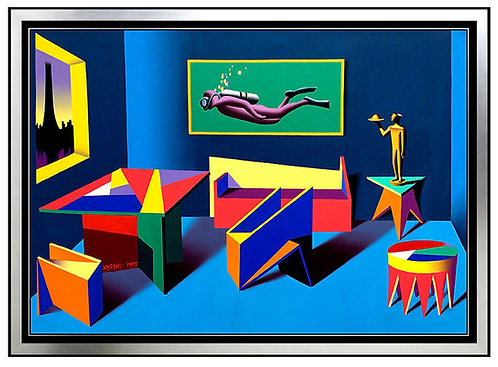 """Unused Felicities"" by Mark Kostabi"