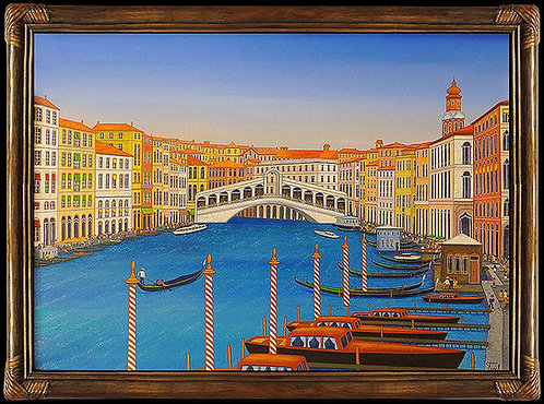 """Ponte de Rialto Original"" by Fanch Ledan"