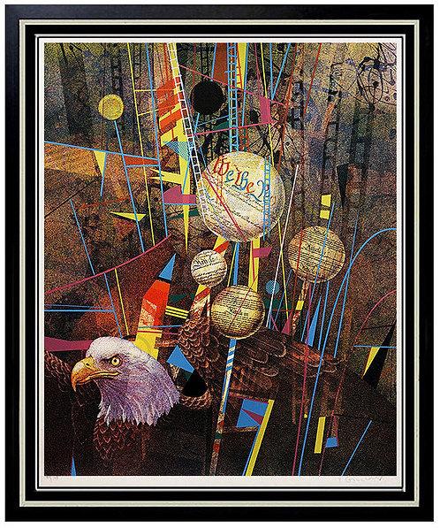 """Celebration of a Nation"" by Yankel Ginzburg"