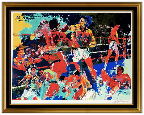 """Homage to Ali"" by Leroy Neiman"
