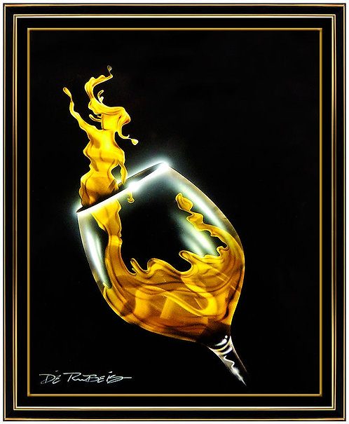 """White Wine Pour"" by Chris DeRubeis"