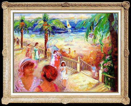 """Original La Promenade"" Elyane Addari"