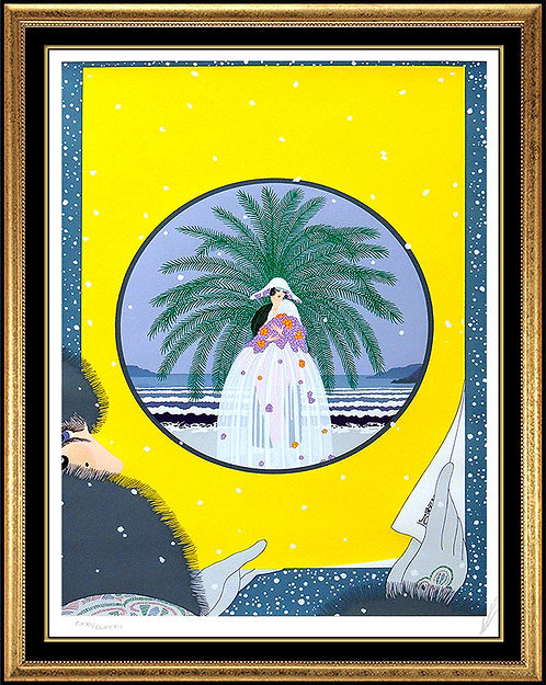 """The Riviera"" by Erte"