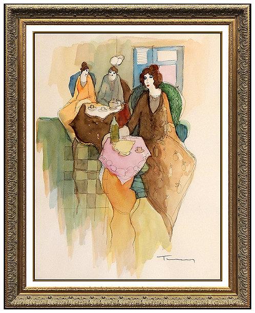 """New Centerpiece Original"" by Itzchak Tarkay"