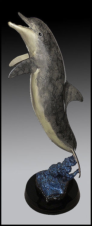 """Dolphin Fish"" by Robert Wyland"