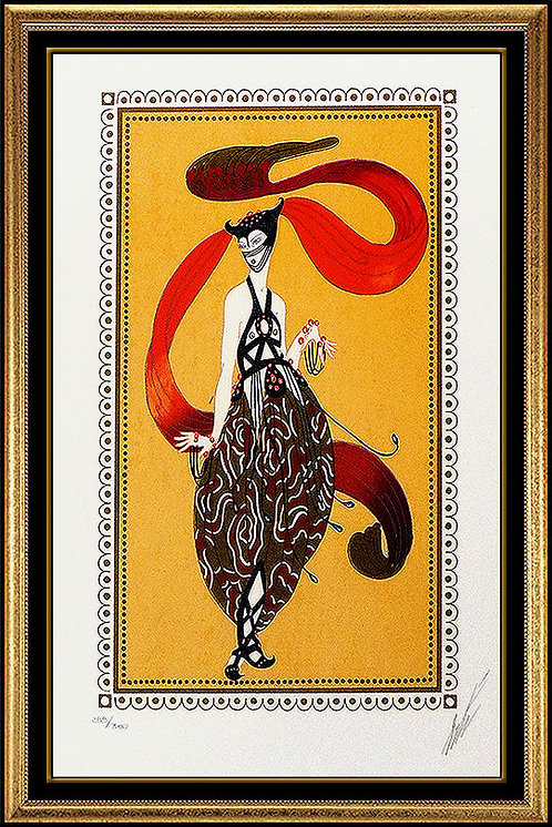 """Beauty Of Bagdad"" by Erte"