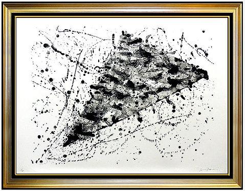 """""""Untitled (SF.214)"""" by Sam Francis"""