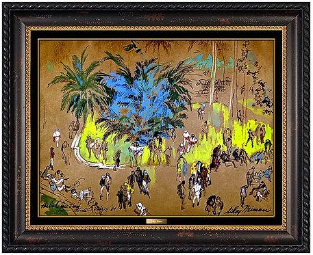 """Hialeah Race Track Original"" by LeRoy Neiman"