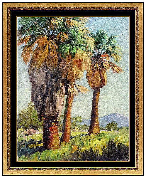 """Stately Palms"" by Paul Grimm"