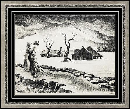 """""""The Flood"""" by Thomas Hart Benton"""