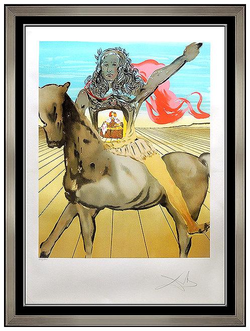 """""""Chevalier Surrealiste"""" by Salvador Dali"""