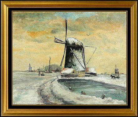 """Original Dutch Windmill"" by Anthony Thieme"