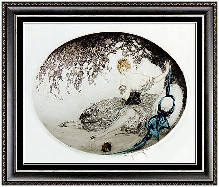 """""""Fallen Nest"""" by Louis Icart"""