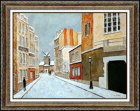 """""""Original Paris Rue Lepic Montmartre"""" by Louis Peyrat"""