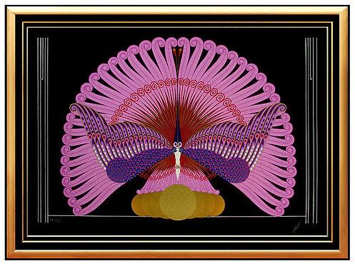 """""""Phoenix Triumphant"""" by Erte"""