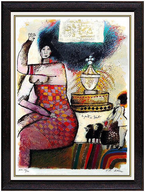 """""""La Puits de Jacob"""" by Theo Tobiasse"""