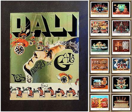 """""""Le Diners de Gala Suite"""" by Salvador Dali"""