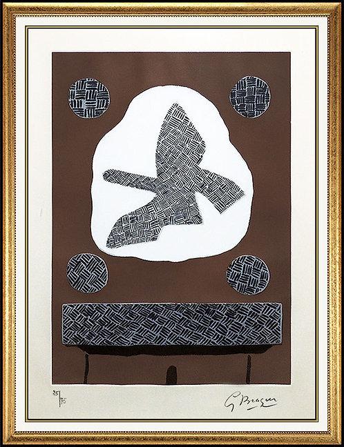 """""""Oiseau De Passage"""" by George Braque"""