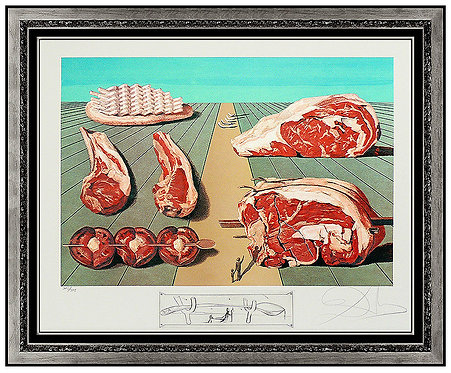 """""""Sodomized Entrees"""" by Salvador Dali"""