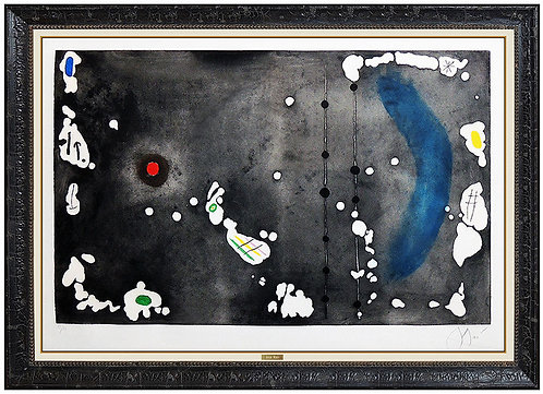 """Archipel Sauvage I"" by Joan Miro"