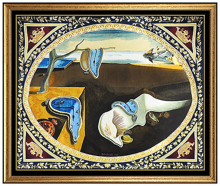"""""""Persistence Of Memory- Tapestry"""" by Salvador Dali"""