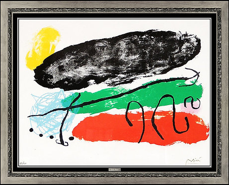 """L'Astre Patagon (M.265)"" by Joan Miro"