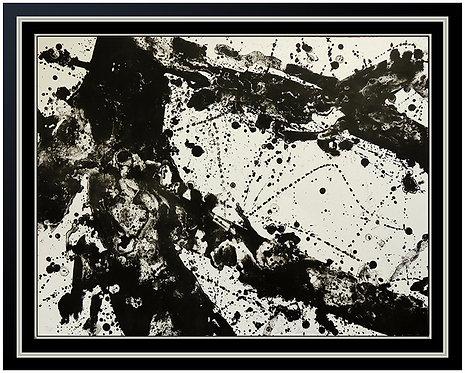 """""""Silver Field (SF. 182; L.165)"""" by Sam Francis"""