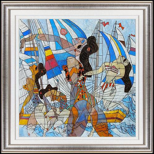 """Original Sailing"" by Jiang Tie Feng"