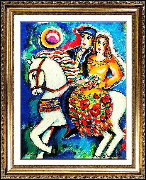 """Equestrian"" by Zamy Stenynovitz"