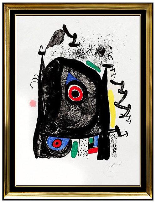 """""""Le Pèlerin de Compostelle (The Pilgrimage)"""" by Joan Miro"""