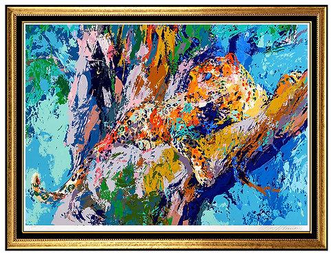 """""""Leopard"""" by Leroy Neiman"""