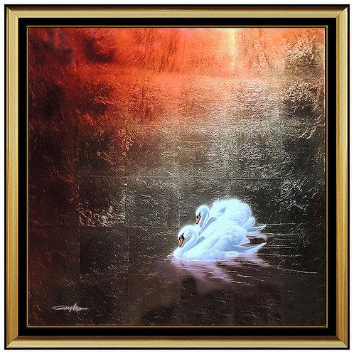 """Original Double Swan"" by Patrick Guyton"