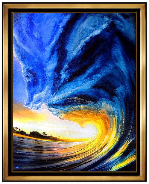 """Wild Blue Water Original"" by Ashton Howard"