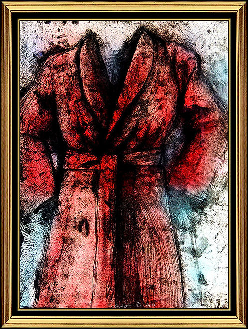 """Red Robe"" by Jim Dine"