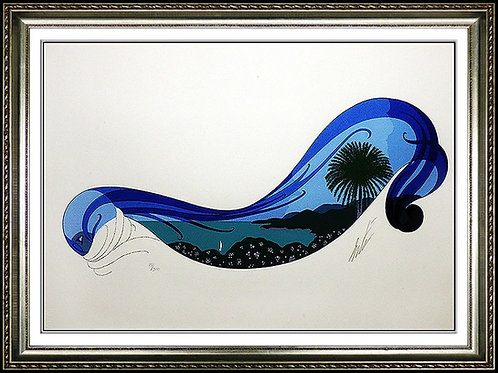 """Riviera"" by Erte"