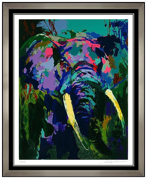 """Portrait of the Elephant"" by Leroy Neiman"